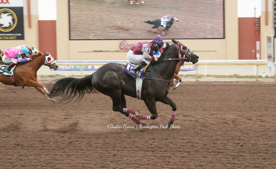 Ivory Turbo fastest qualifier to Oklahoma Derby
