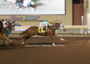 Captain Capi Co-Fastest Qualifier Oklahoma Paint and Appaloosa Futurity Trial