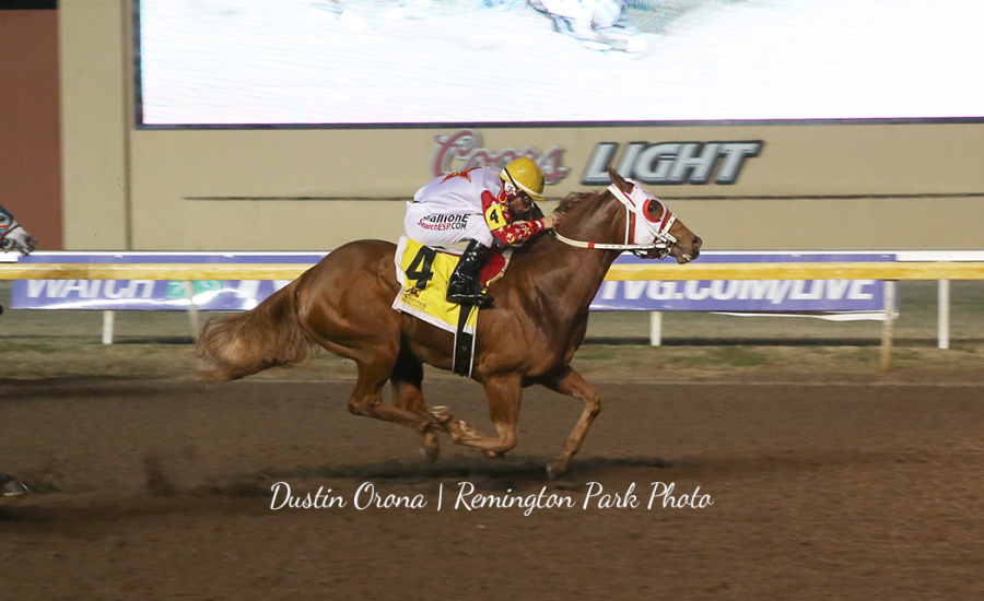 Aint She Tempting 2020 Oklahoma Futurity Winner