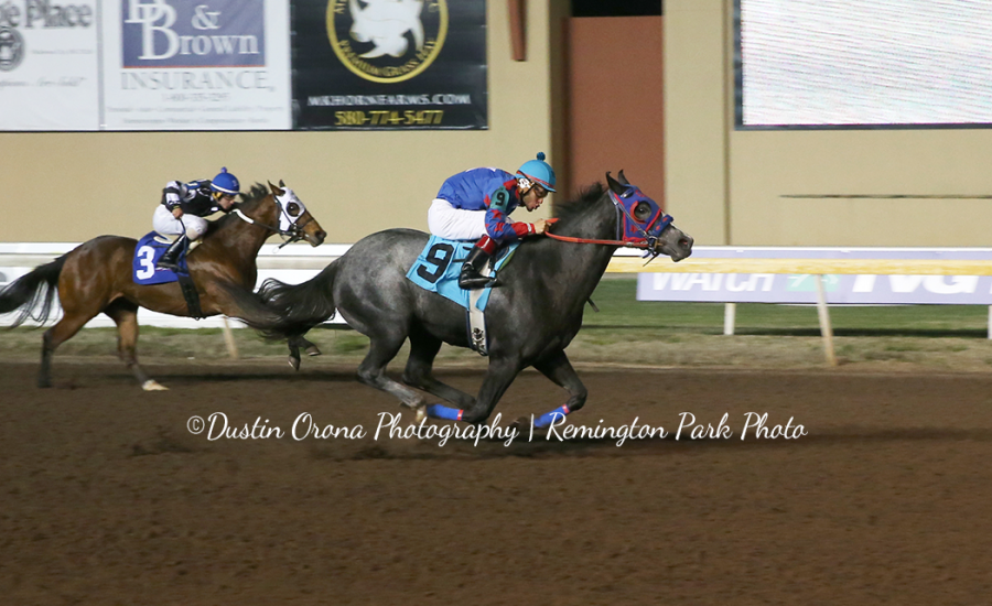 Dalts Fancy Pistol Remington Park Futurity Trial